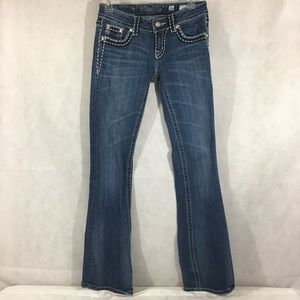 Miss Me Boot Cut Jeans JP5014-8 Size 26